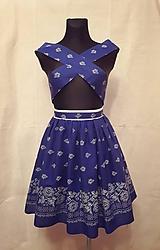 Sukne - Folklórna suknica 1 - 9237597_