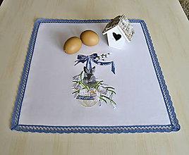 Úžitkový textil - obrus veľkonočný - 9235687_