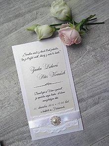 Papiernictvo - svadobné oznámenie 805 - 9238124_
