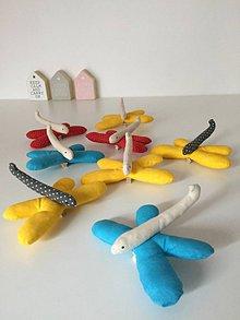 Hračky - vážky....rôzne farby - 9235449_