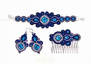 Sady šperkov - Soutache sada na želanie - 9237334_
