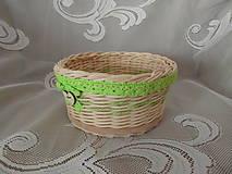 Košíky - Jarný košík - 9236826_