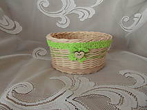 Košíky - Jarný košík - 9236832_