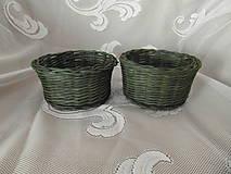 Košíky - Zelené olivy - 9236870_