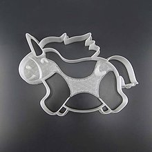 Pomôcky - Vykrajovátko na perničky 3D Tisk Jednorožec - 9239324_