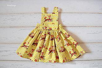 Detské oblečenie - suknička na traky - 9241225_
