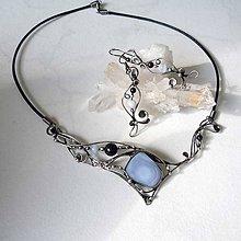 Sady šperkov - Ledové království III. - chalcedon - 9239290_