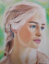 - Obraz - Emilia Clarke, Daenerys Targaryen, Mother of Dragons - 9242016_