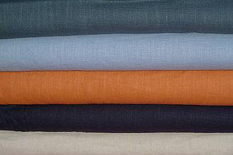 Textil - Látka Ľan farebný - 9242639_