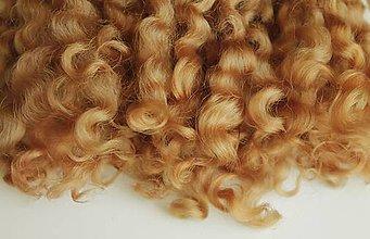 Materiál ručne robený - Vlasy pre bábiky - č. 14 - 9240231_