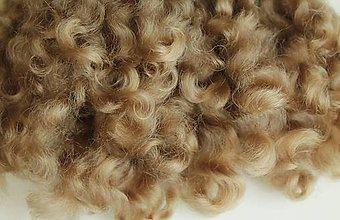 Materiál ručne robený - Vlasy pre bábiky - č. 15 - 9240247_