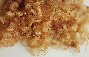 Materiál ručne robený - Vlasy pre bábiky - č.  17 - 9240254_