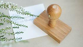 - Pečiatka a ďakovné kartičky na objednávku - 9239343_