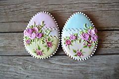 Dekorácie - Medovníkové vajíčko Shabby Chic - 9240757_