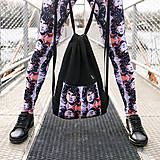 Nohavice - Spolupráca s Waki.Vaky - Legíny s motívom autorského obrazu: JM - 9240588_