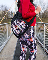 Nohavice - Spolupráca s Waki.Vaky - Legíny s motívom autorského obrazu: JM - 9240591_