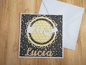 Papiernictvo - Pohľadnica pre bábätko - 9242814_