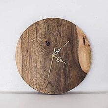 Hodiny - orechové hodiny - 9241412_