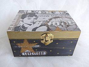 Krabičky - Šperkovnica Audrey - 9239184_