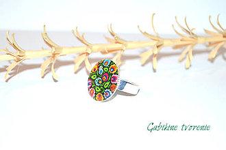 Prstene - Prstienok v štýle FOLK - 9242585_