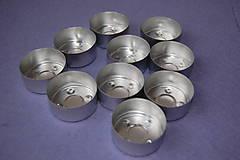 Komponenty - Obal na čajovú sviečku 10 ks - 9239347_
