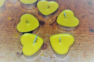 Iný materiál - Výroba čajových sviečok - Kreatívna sada - 9239114_