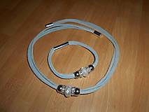 Sady šperkov - Súprava Náhrdelník+Náramok - 9243074_