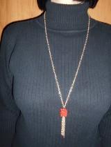 Náhrdelníky - Náhrdelník s kockou - 9243164_