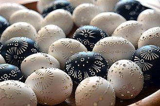 Dekorácie - Čierne madeirové kraslice - veľkosť L - 9242977_
