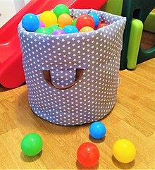 Detské doplnky - Vak na hračky s uškami - 9246217_