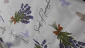 Textil - Dekoračná poťahovka Levandule - 9244317_