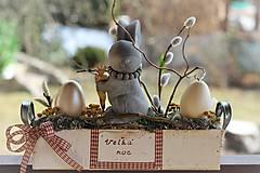 Dekorácie - Veľkonočná dekorácia - 9244578_