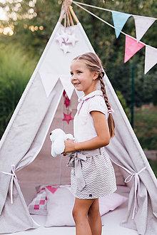 Detské oblečenie - Dievčenská suknička - 9244426_