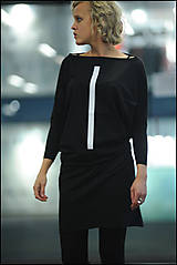 Šaty - FNDLK úpletové šaty 235 TqL - 9248350_