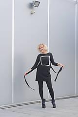 Šaty - FNDLK úpletové šaty 238 RVK - 9248400_