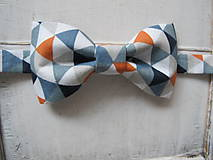 - Detský motýlik trojuholníkový - 9246366_