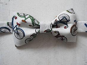 Detské doplnky - Detský motýlik pre malých cyklistov - 9246334_
