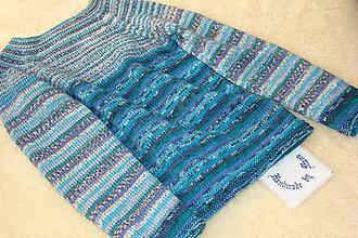 Detské oblečenie - Ručne pletený vlnený pulóver - 9245092_