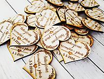 Darčeky pre svadobčanov - Magnetky - 9248556_