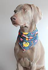 Pre zvieratká - Foli - Obojstranná šatka pre psíkov - 9245952_