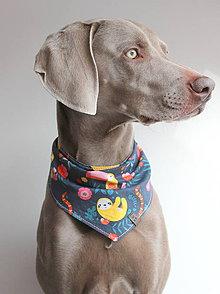 Pre zvieratká - Foli - Obojstranná šatka pre psíkov - 9245956_