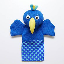 Hračky - Maňuška papagáj - 9244402_