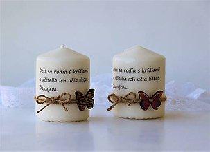 Svietidlá a sviečky - Dekoračné sviečky - poďakovanie pre učiteľov I. - 9247193_