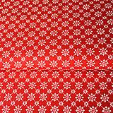 červená výšivka, 100 % bavlna Nemecko, šírka 140 cm, cena za 0,5 m