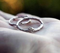 Prstene - Vetvičkové svadobné obrúčky - 9248330_