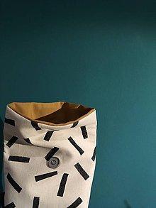 Úžitkový textil - Ušimi desiatové vrecúško II - 9247196_