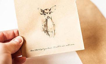 Papiernictvo - Papierová obálka / vrecko