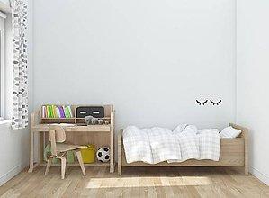 Dekorácie - Nálepky na stenu - Spiace očká - 9245583_