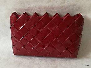 Peňaženky - bordová peňaženka - 9245405_