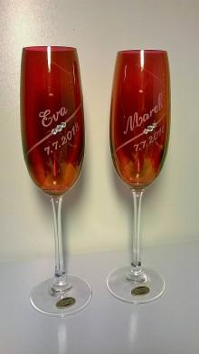 Nádoby - Svadobné poháre - 9250266_